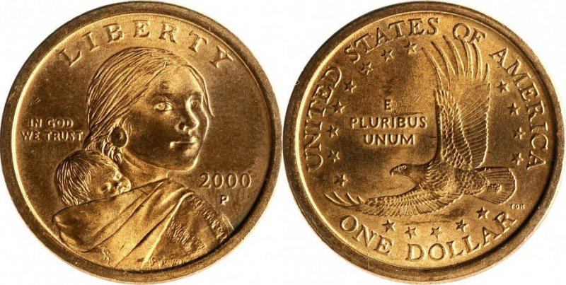 Доллар 2000 года