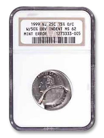 Грейдинг бракованной монеты