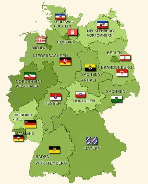 Федеральные земли Германии