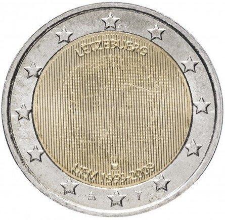 Люксембург. LËTZEBUERG, UEM (стереоэффект, эмблема сменяется портретом герцога)