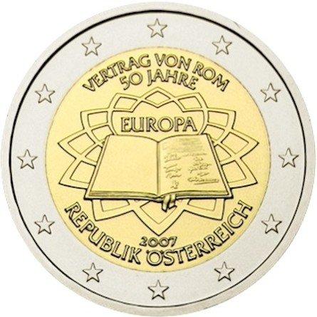 Австрия. VERTRAG VON ROM 50 JAHRE, EUROPA, REPUBLIK ÖSTERREICH (Римское соглашение, 50 лет, Европа, Австрийская республика)