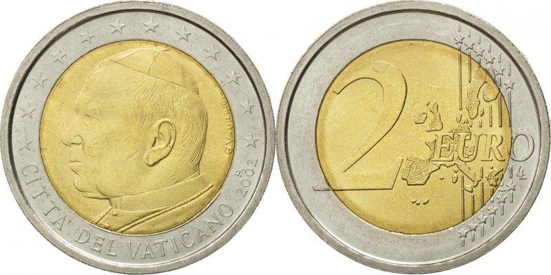 2 евро 2002 года