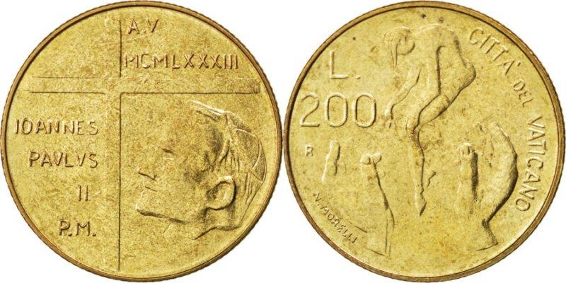 200 лир 1983 года