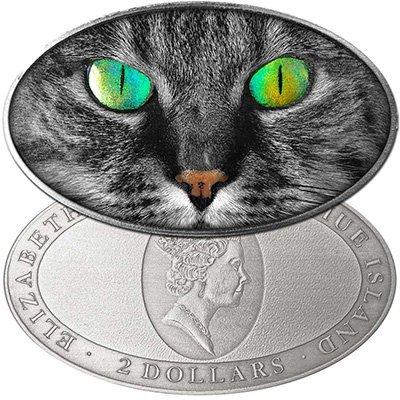Монета овальной формы