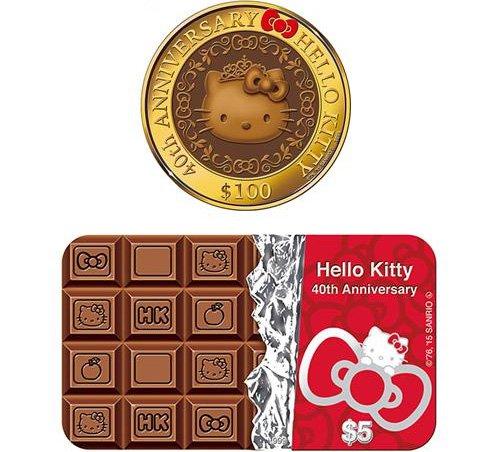 Монеты с запахом шоколада