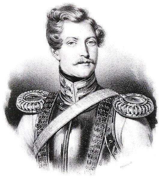 Портрет Жоржа Дантеса