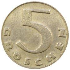 5 грошей (реверс)
