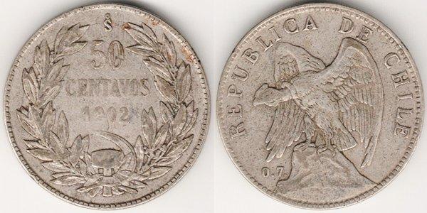 50 сентаво 1902 г.