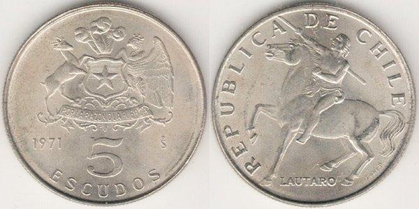 5 эскудо 1971 г.