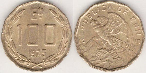 100 эскудо 1975 г.