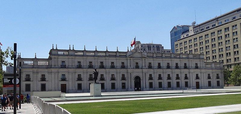 Ла Монеда – бывший монетный двор, ныне – резиденция президента Чили