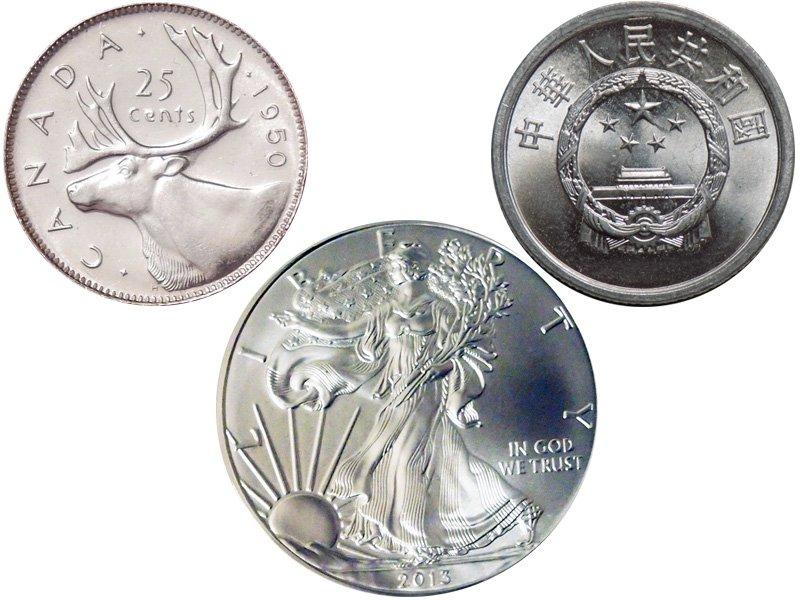 Монеты превосходной сохранности