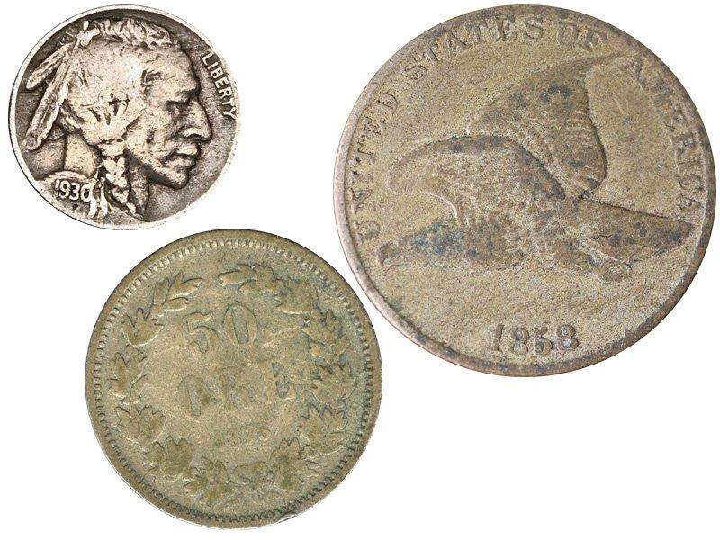 Монеты средней степени сохранности
