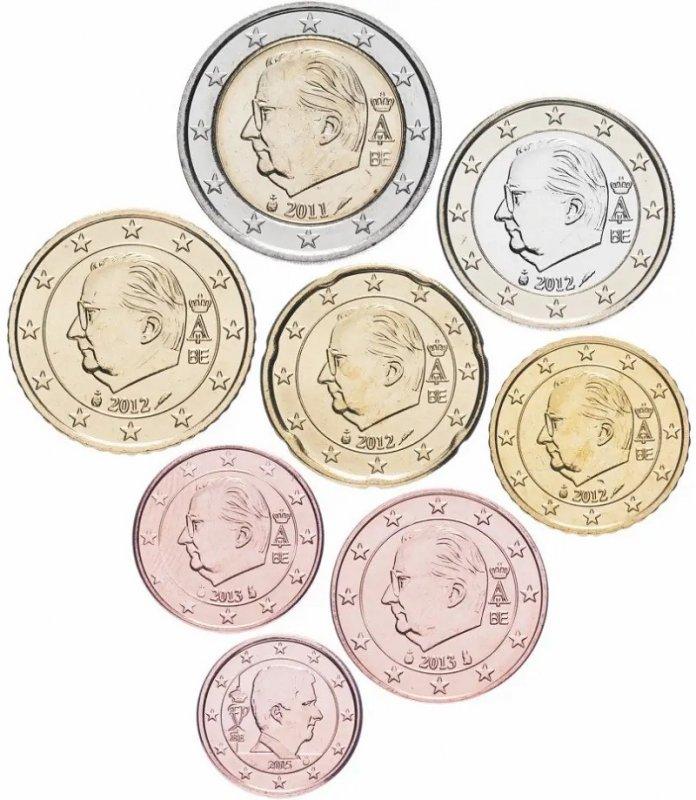 Монеты евро Бельгии третьего и четвёртого типа