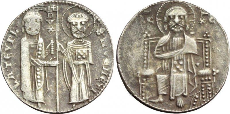 Серебряный гроссо матапан. Период правления дожа Лоренцо Тьеполо (1268-1275)