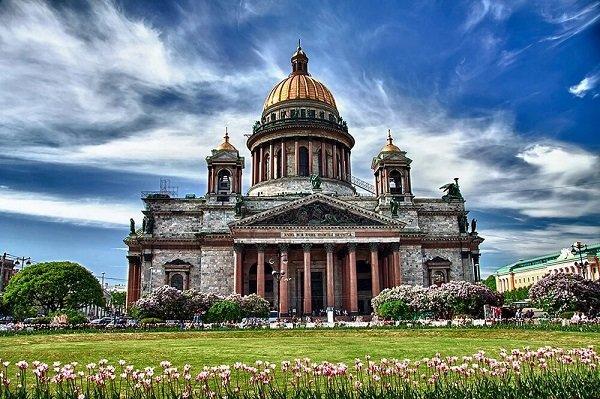 Исаакиевский собор. О. Монферран. 1818-1858 гг.