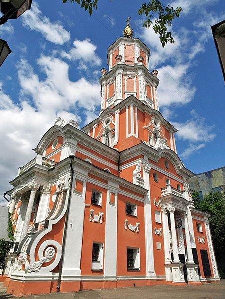 Церковь архангела Гавриила (Меншикова башня). 1707 год. Москва. Современное состояние