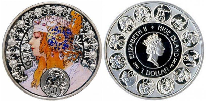 Монета зодиакальной серии