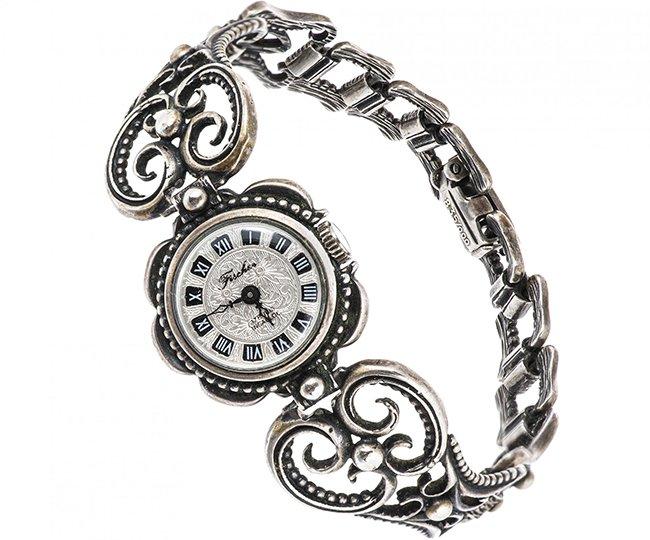 Наручные часы (серебро)