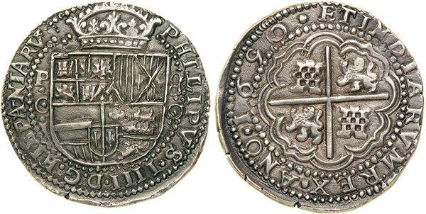 8 реалов 1650 г.