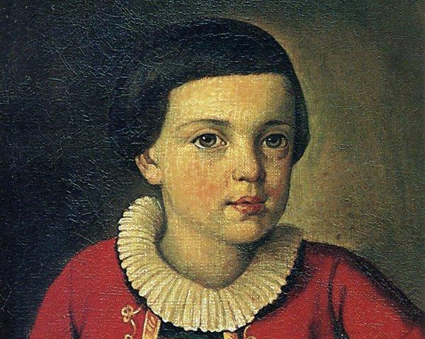 М.Ю. Лермонтов в детстве