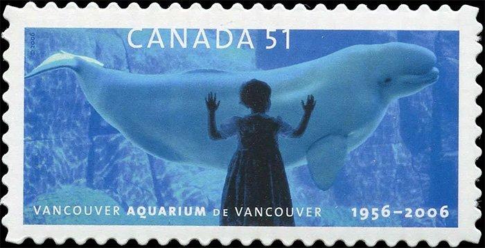 Почтовая марка Канады
