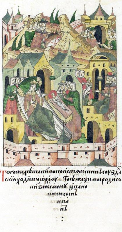Великий нижегородского-суздальский князь Константин Васильевич