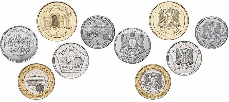 1, 2, 5, 10 и 25 фунтов 1996-2003 гг., САР