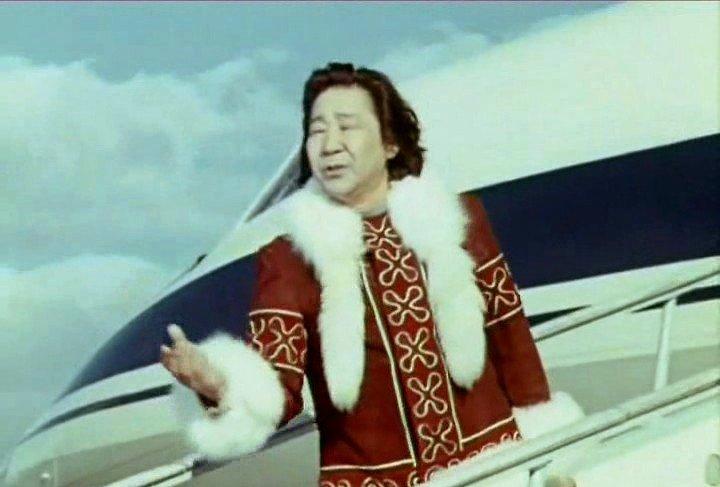 Фильм-концерта «Песни Марка Фрадкина». Кола Бельды с песней «Увезу тебя я в тундру», 1977 год