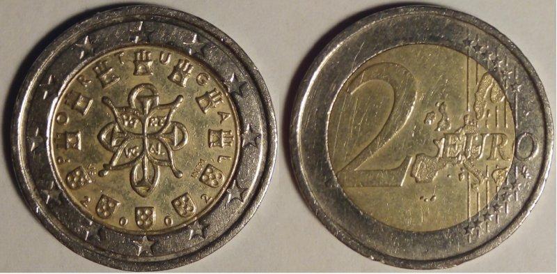 2 евро 2002 года, обработка уксусом