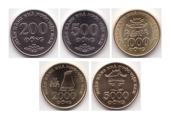 Современные монеты Социалистической Республики Вьетнам