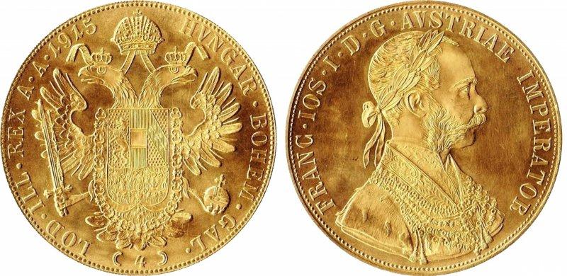 Инвестиционные четыре дуката (Австрия, 1920-1936)
