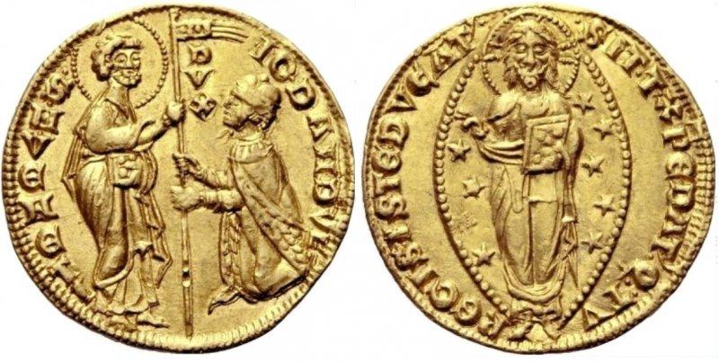 Венецианский дукат (1280-1289)