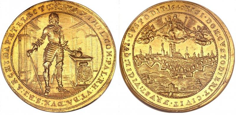 Пять дукатов из Баварии (1640)