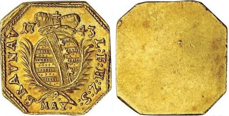 Дукат из Браунау (1743)