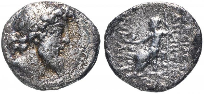 Селевкиды, Деметрий II Никатор (129-125 до.н.э). Драхма