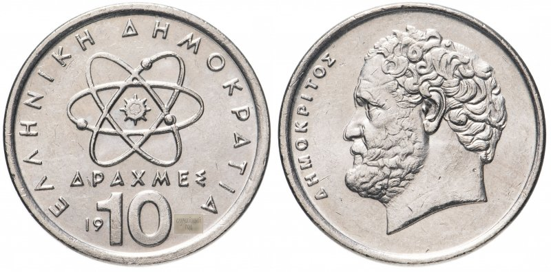 Греция 10 драхм 1976-2000 гг.