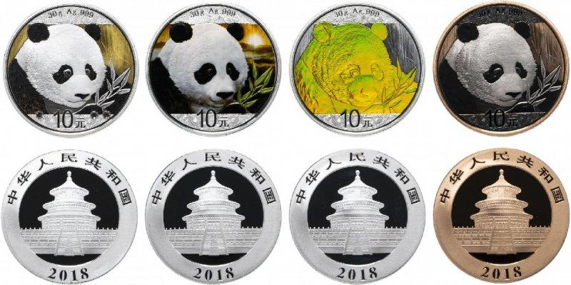 Десять юаней «Панда» (2018)