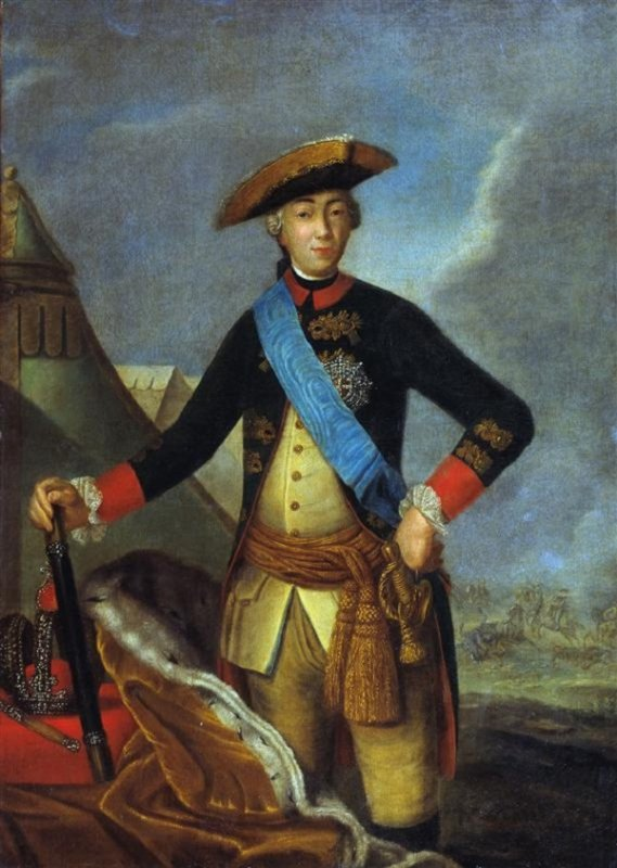Федор Рокотов. Портрет императора Петра III. 1762 год