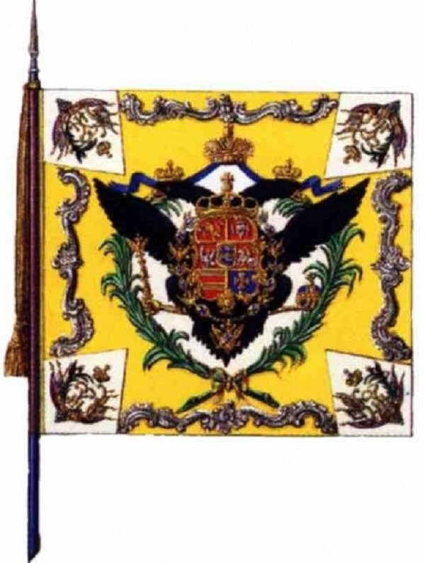 Знамя Голштинского полка Петра III, отбитое у Пугачева, повергло в шок Екатерину II
