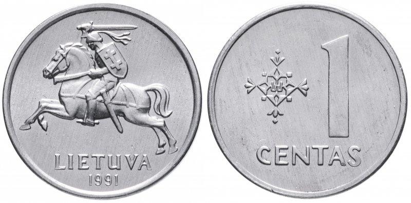 1 цент (первый выпуск)