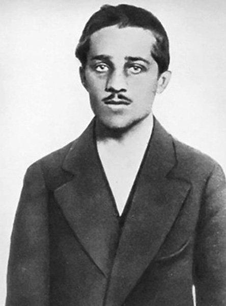 Серб Гаврило Принцип, застреливший эрцгерцога Фердинанда и его супругу
