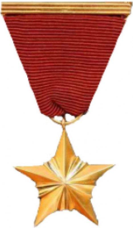 Медаль «Золотая Звезда» Героя соцтруда ЧССР
