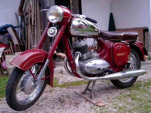Мотоцикл «Ява-250». ЧССР