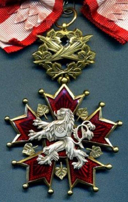 Орден Белого Льва первого класса образца 1961 года