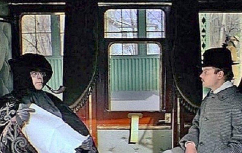 Кадр из х/ф «Приключения Шерлока Холмса и доктора Ватсона. Смертельная схватка», 1980 год