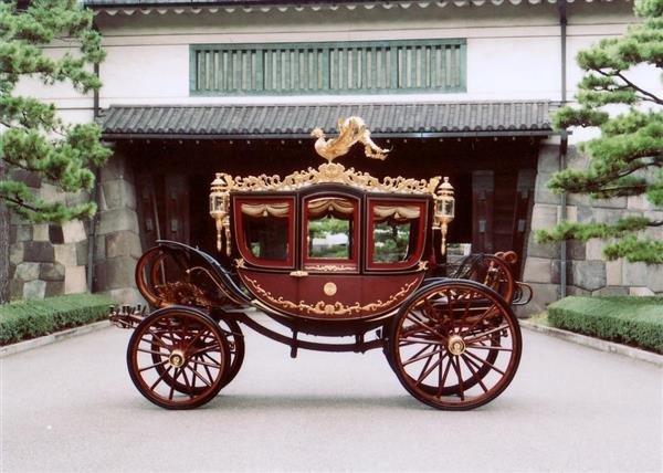 Церемониальная карета японских императоров. 1914 год