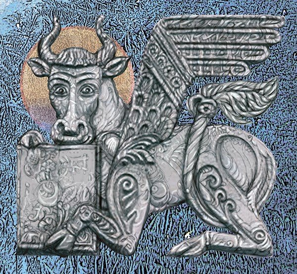Бык – символ евангелиста Луки