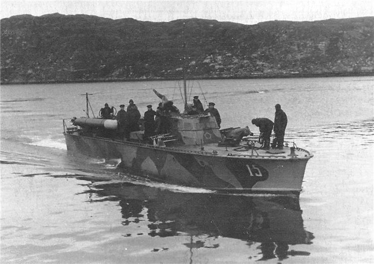 Мореходный торпедный катер серии Д-3