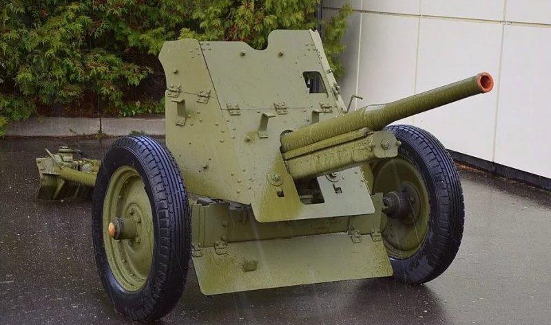 45-мм противотанковая пушка образца 1937 года